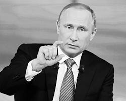 Путину приходится регулярно «делиться» рейтингом (фото: Michael Klimentyev/RIA Novosti/Reuters)