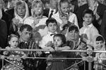 В Москве главная пасхальная служба прошла в храме Христа Спасителя (фото: Михаил Джапаридзе/ТАСС)