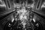 Главное пасхальное богослужение прошло в храме Христа Спасителя в Москве (фото: Максим Блинов/РИА «Новости»)