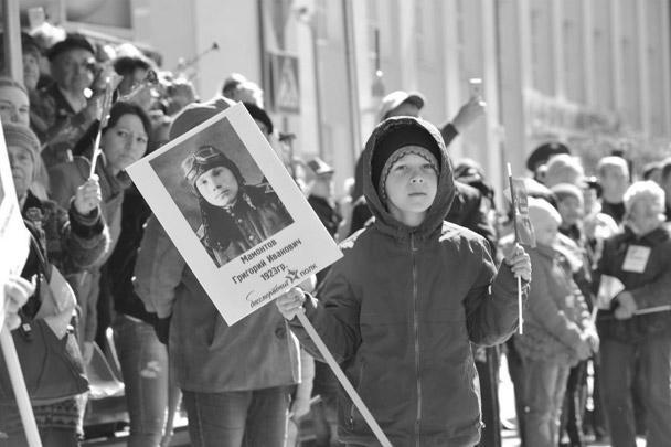 В Тюмени в «Бессмертном полку» прошли более 45 тыс. человек