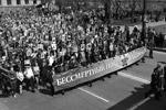 """В строю «Бессмертного полка» в Хабаровске прошли 50 тысяч горожан (фото: Организаторы акции """"Бессмертный полк"""")"""