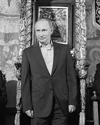 В православном храме нет и не может быть трона для светского владыки (фото: Алексей Дружинин/пресс-служба президента РФ/ТАСС)