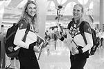 Российские спортсмены отправились на Олимпиаду в Рио-де-Жанейро. Торжественные проводы прошли на фоне самого крупного допингового скандала в современной истории российского спорта, из-за которого «за бортом» Игр осталось 137 человек (фото: Антон Денисов/РИА Новости)