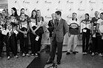 Президент Олимпийского комитета России Александр Жуков выступил перед спортсменами с напутственной речью (фото: Антон Денисов/РИА Новости)