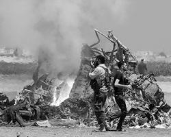 Раньше вертолеты для боевиков были недосягаемы (фото: Ammar Abdullah/Reuters)