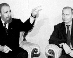 Первая встреча с Путиным, сентябрь 2000, Нью-Йорк (фото:Величкин Сергей; Родионов Владимир/ТАСС)