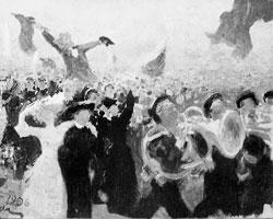 Такой либерализм - как движение, враждебное религии, здравому смыслу, свободе (картина Ильи Репина