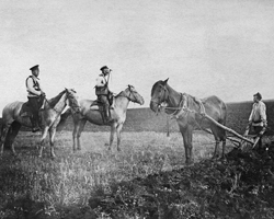 Желал он того самого, чем  большевики первоначально увлекли крестьянство, – земли.(фото:  ТАСС)