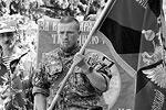 Боец народного ополчения под позывным «Моторола» был одним из самых успешных командиров. В Славянске подразделение Моторолы вело боевые действия в деревне Семеновке, а этот участок считался одним из наиболее сложных (фото: ok.ru/arsen.pavlov)