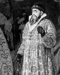 При  Иоанне Грозном было установлено доминирование государственной власти над  крупной собственностью (фото: В.М. Васнецов)