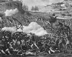 Ситуация все более напоминает 1860г., когда избрание Линкольна вызвало возмущение Южных штатов (фото:Kurz & Allison/wikipedia.org)