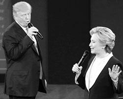 Исход голосования 8 ноября не поставит точку ни в одном вопросе, который разделил Америку надвое (фото:Patrick Semansky/AP/ТАСС)