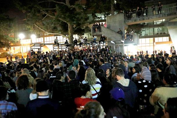 Акции протеста против Трампа в Орегоне переросли в беспорядки