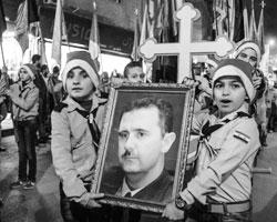 Христиане Сирии празднуют Рождество несмотря ни на что (фото:Валерий Мельников/РИА Новости)