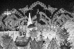 Новогоднее убранство Пушкинской площади в Москве (фото: Владимир Астапкович/РИА «Новости»)
