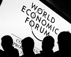 Представители глобальной элиты в Давосе уделят особое внимание и «неправильному» поведению России (фото:Pascal Lauener/Reuters)