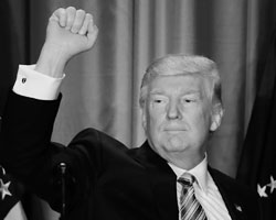 Трамп пообещал забрать власть у элит и вернуть ее народу (фото:Matt Rourke/AP/ТАСС)