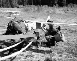 Подготовка к запуску БПЛА