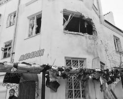 В аду живут те, кто пережидает обстрелы в подвалах рядом с донецким аэропортом (фото: Ирина Геращенко/РИА Новости)