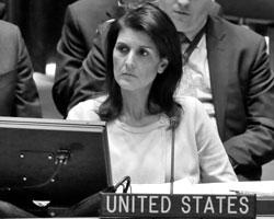 Эксперты отметили существенное изменение тона американского постпреда в ООН (фото: Richard Drew/AP/ТАСС)