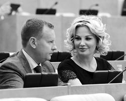 Случай Максаковой-Вороненкова очень медиен и кинематографичен (фото: Александр Шалгин/пресс-служба Госдумы РФ/ТАСС)