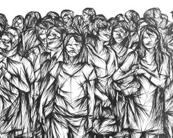 В «массовизированном обществе» человек вынужден раз за разом бежать «куда все» (фото: Francesca Bifulco)