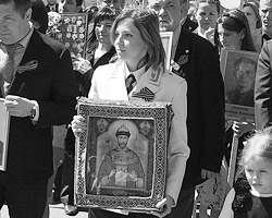 Многие считают нужным отпустить какую-нибудь грубую, или даже сальную шутку про Поклонскую (фото: Алексей Коновалов/ТАСС)
