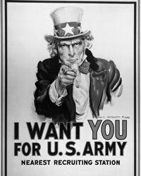 Сто лет назад, пусть и ненадолго, Россия и США впервые стали военными союзниками (photo:James Montgomery Flagg)