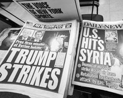 После ударов Трамп получает «хорошую прессу» (фото:Richard B. Levine/imago stock&people/Global Look Press)
