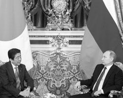 Подписание мирного договора между Японией и Россией могло бы сильно упростить жизнь в условиях санкций (фото:Сергей Гунеев/РИА Новости)