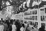 Мексика. Мехико. 7 мая. Во время открытия «Стены памяти» в рамках акции «Бессмертный полк» у российского посольства (фото: Иван Валюк/ТАСС)