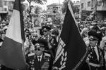 Хайфа. Израиль. Участники шествия ветеранов ВОВ и другие участники акции «Бессмертный полк», посвященной 72-й годовщине победы в Великой Отечественной войне