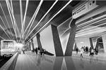 Жители столицы получили возможность повлиять на то, как будут выглядеть новые станции московского метро. Голосование за проекты, победившие в предварительном конкурсе, началось на сайте «Активный гражданин». На данном рисунке – один из вариантов интерьера станции «Шереметьевская» (фото: mos.ru)