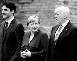 Шоковую реакцию Меркель на Трампа можно понять (фото: Jonathan Ernst/Reuters)