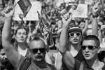 Около половины участников акции оказались приверженцами традиционных семейных ценностей, которые в то же время не выступают против однополых браков. Марш прошел под лозунгами «Страна для всех» и «Права человека прежде всего», с призывами прекратить дискриминацию сексуальных меньшинств на Украине (фото: )