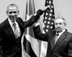 «Кубинская разрядка» была одним из амбициозных внешнеполитических проектов бывшего президента США (фото: Carlos Barria/Reuters)