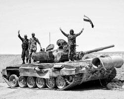 Начинается битва за сирийское наследство и у всех ее участников совершенно разные, не совместимые друг с другом интересы (фото: SANA/Reuters)