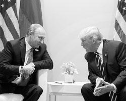 Лидеров двух крупнейших в мире соперничающих государств обвиняют чуть ли не в сговоре (фото: Mikhail Klimentyev/Zuma/Global Look Press)