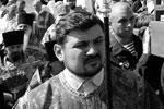 В Москве воцерковленные десантники участвовали в крестном ходе от храма Пророка Божия Илии до Красной площади (фото: Артем Геодакян/ТАСС)