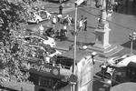 Наезд на группу людей был совершен в районе улицы Рамбла в центре Барселоны, где бывает традиционно много туристов (фото: imago stock&people/Global Look Press)