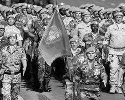 Вариант размещения «голубых касок» ООН в Донбассе мог бы стать безупречной формой защиты для народных республик (фото: Vincent Kessler/Reuters)