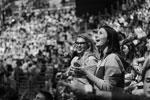 В церемонии закрытия принял участие рок-оркестр под управлением Александра и Никиты Поздняковых, который исполнил современные хиты в своей аранжировке, молодые поэты, а также танцоры. Перед началом шоу всем зрителям раздали светящиеся браслеты, которые централизовано включались в нужные моменты представления (фото: Игорь Герасимчук/фотохост-агентство ТАСС )