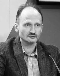Сопредседатель «Союза русских Латвии» Мирослав Митрофанов (фото: кадр из видео)