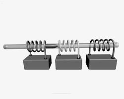 Принцип действия Гаусс-пушки (фото: ZeroOne/Wikipedia)