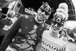В Амстердаме пользуется популярностью рождественский забег людей в свитерах с оленями. Подобная традиция существует в Европе и США (фото: Romy Arroyo Fernandez/Zuma/Global Look Press)