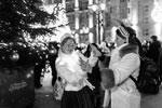 Большую часть Снегурочек составили студентки столичных вузов (фото: Евгения Новоженина/РИА Новости)