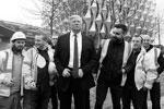 Фигура лидера США была открыта в январе 2017 года для всеобщего обозрения в лондонском Музее мадам Тюссо (фото: I-Images/Zuma/Global Look Press)