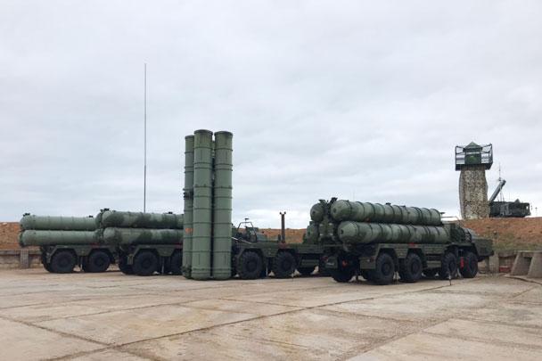 Опубликовано видео нового дивизиона С-400 в Крыму