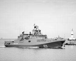 Сторожевой корабль «Адмирал Григорович» (фото: Василий Батанов/РИА Новости)