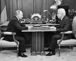Владимир Путин и Владимир Васильев (фото: Алексей Никольский/ТАСС)